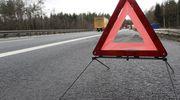 Uwaga! Wypadek na trasie Elbląg - Malbork