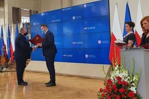 Karol Marchel nagrodzony przez ministra