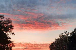 NieboLema: słońce nad Kołobrzeską