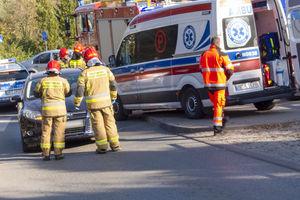 Rowerzysta trafił do szpitala, dokumentacja trafi do sądu