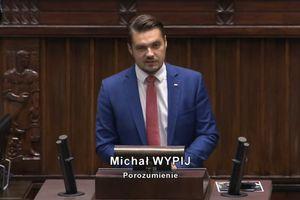 Michał Wypij atakuje rząd. Poseł Małecki: To trochę nie na miejscu