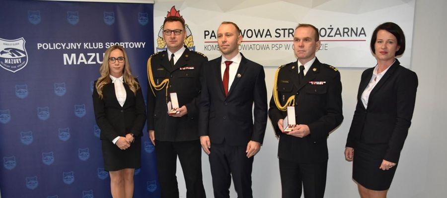 Medale dla komendantów