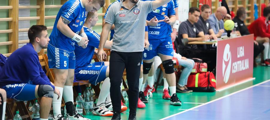 Jarosław Knopik, trener Warmii Energi Olsztyn