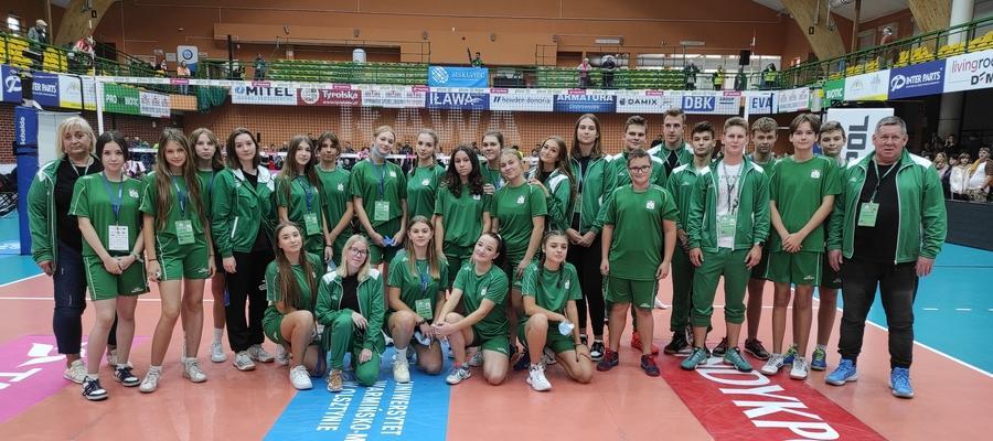 Ekipa Zrywu przed meczem Plus Ligi w Iławie